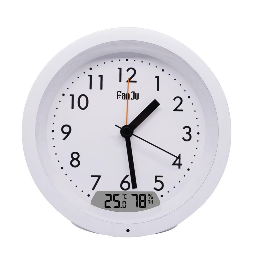 Fanju 5132 Повтор будильника Термометр гигрометр дисплей автоматическая подсветка классические настольные часы домашний декор