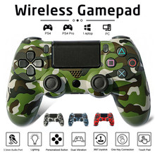 High Quality Joystick PS4 Wireless FOR Sony Bluetooth Controller PlayStation 4 Pro/Slim/PC/iPad/Tablet/Steam/DualShock 4 Gamepsd