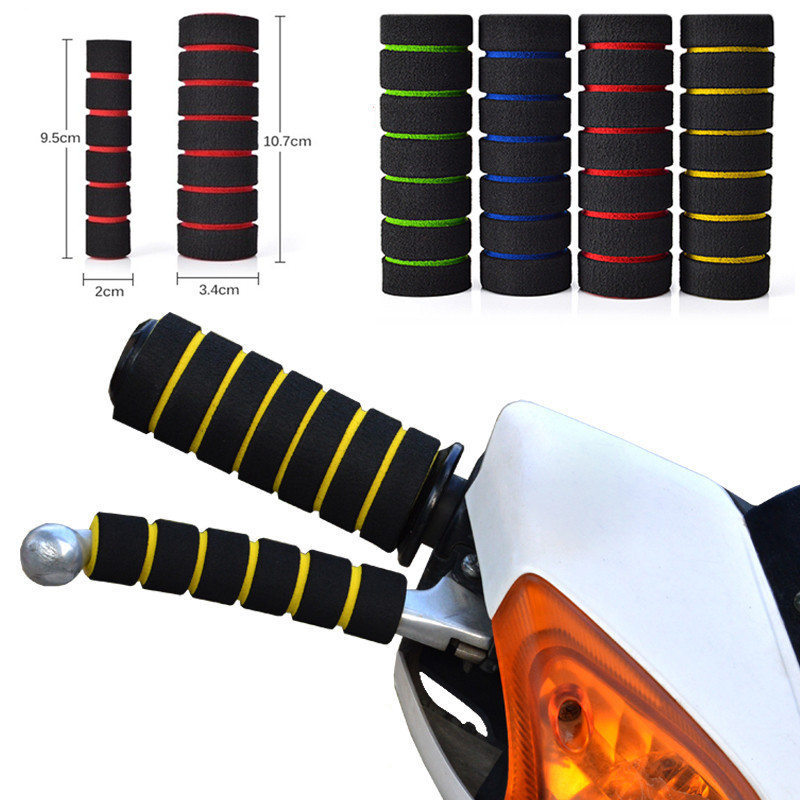 Bicycle Cycling Foam Grips Soft Comfortable Anti-Slip Sponge Handlebar Grip YJUS