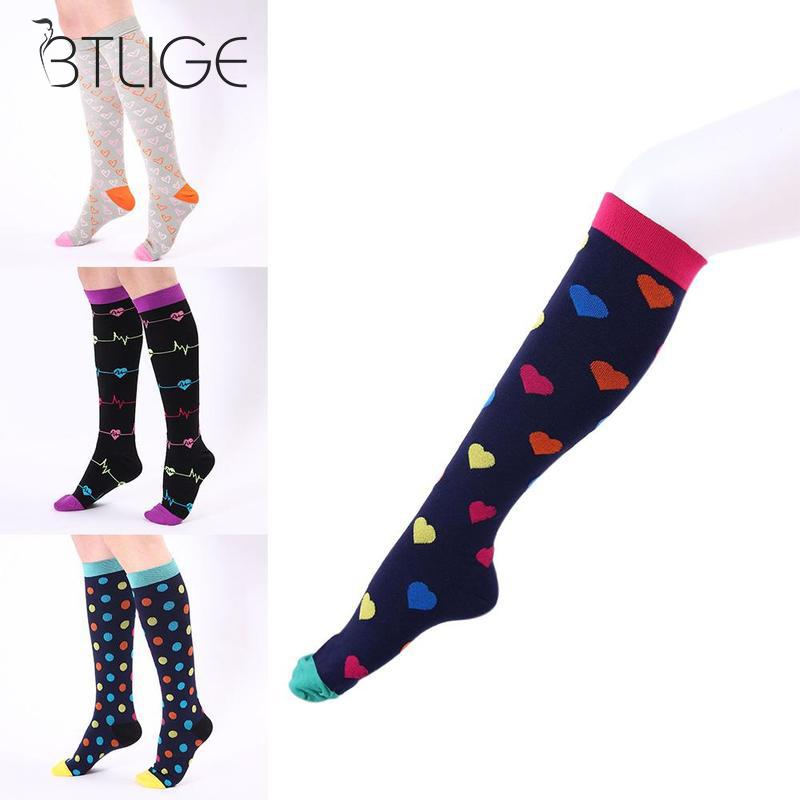 Women Men Medical Compression Socks Pressure Varicose Veins Leg Relief Pain Knee Thigh High Socks Calf Support Meias