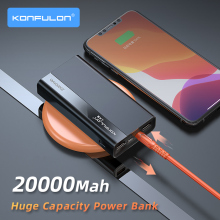 Power Bank 20000Mah Super Quick Charge22.5W Bank Power For Vivo 20000mah QC3.0 PD Two way Quick Charge For Mobile i  Phone topk power bank 20000mah portable battery charger quick charge pd 3 0 for iphone xiaomi samsung mobile phone