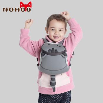 NOHOO wodoodporne śliczne koty zwierzęta plecak dziecięcy dzieci maluch torby szkolne dla dziewczynek dzieci szkolne torby dziecięce przedszkole tanie i dobre opinie CN (pochodzenie) Neopren zipper Backpack 0 2kg Neoprene 21cm Cartoon NH041 Dziewczyny 19cm Unisex 3D Cat Pattern Backpack