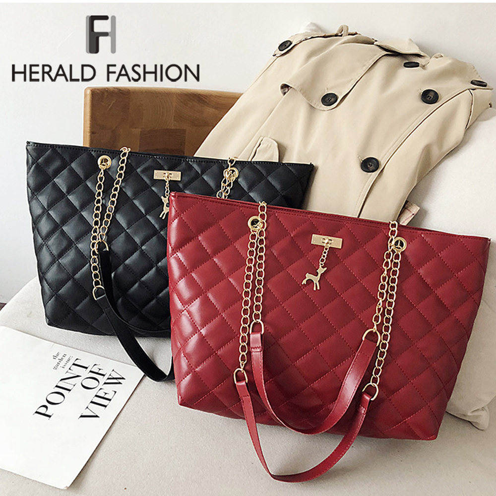 Soft PU Leather Messenger Bags For Women 2020 Chain Simple Style Shoulder Crossbody Bag Lady Small Handbags PU Leather Black Bag