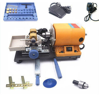 Beeswax Punching Machine Stepless Speed Regulation Multifunctional Bead Walnut Hole Puncher Drilling Tools Processing Equipment home small diy jade beeswax buddha beads hole puncher drilling machine hole punch electric high power pearl punching tools