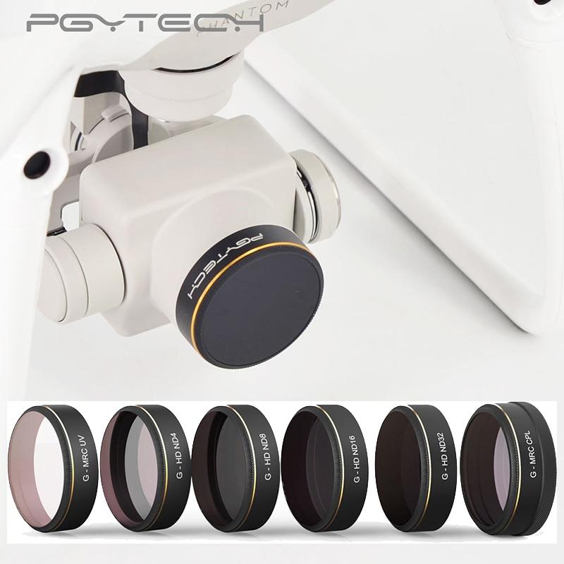 CandyQ Professional Advanced Camera Lens Filters For DJI Phantom 3// 4 MCUV