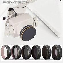 Фильтр объектива Phantom 4 PRO PGYTECH MCUV CPL ND4/8/16/32/64 HD Комплект фильтров для объектива Аксессуары для дрона квадрокоптера DJI Phantom 4 PRO