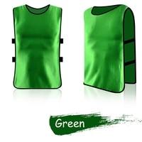 Adult Team Sports Football Soccer Training Pinnies Jerseys Quick dry Breathable Training Bib Vest
