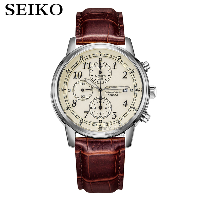 seiko watch men Luxury Brand Waterproof Sport Wrist Watch watch Chronograph quartz watches Mens Watches Relogio Masculino