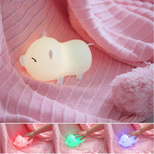 LED Doodle Pig Night Light Home Decoration Lights Creative Atmosphere Lights Fashion Professional Beautiful