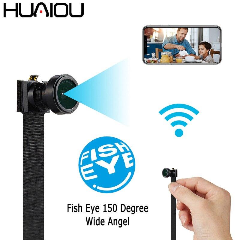 Mini caméra 1080P 90 degrés bricolage | Vision nocturne IR, caméra WIFI, enregistreur vidéo, détection de mouvement, caméscope Flexible, APP sans fil