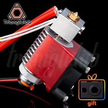 V6 Threaded HeatSink v6 hotend 12V/24V remote Bowen print J-head Hotend and cooling fan bracket for E3D HOTEND for PT100 titan недорого