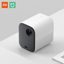 Xiaomi Mijia MJJGTYDS02FM DLP мини-проектор Full HD 1080P 30000 светодиодный Wi-Fi bluetooth для телефона музыкальный 3D проектор для домашнего кинотеатра
