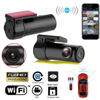 Car DVR Camera Rearview Mirror Digital Video Recorder Auto Dash Cam 360° multifunction Registrator Dvrs Dash For car accessories