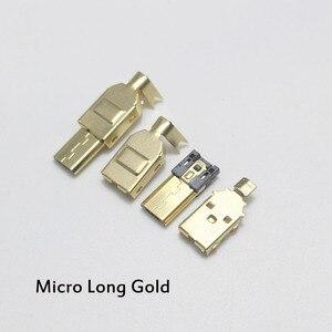 1/2/5 шт Позолоченные Тип C и USB A USB B мини-разъем Micro USB разъем кабеля Разъем Порты и разъёмы сокет для Hi-Fi аудио адаптер