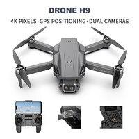 H9PRO GPS seguimi RC Drone Brushless Motor 6k Dual Len 2000m Range 5G WIFI FPV Drone riconoscimento dei gesti Quadcopter giocattoli