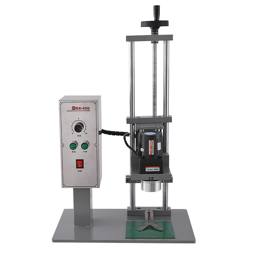 Máquina tampando automática 110 v/220 v 70kw 10 50mm da garrafa do desktop de alta qualidade da máquina ddx450 do parafuso da multi função