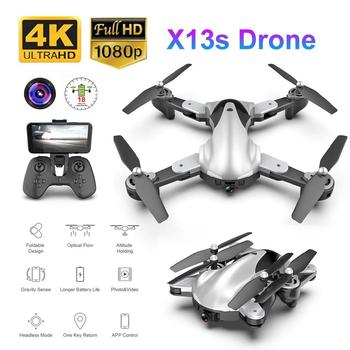 LeadingStar X13S Foldable RC Drone 1080P/4K Camera Gesture Photo Video Optical flow position RC Helicopter