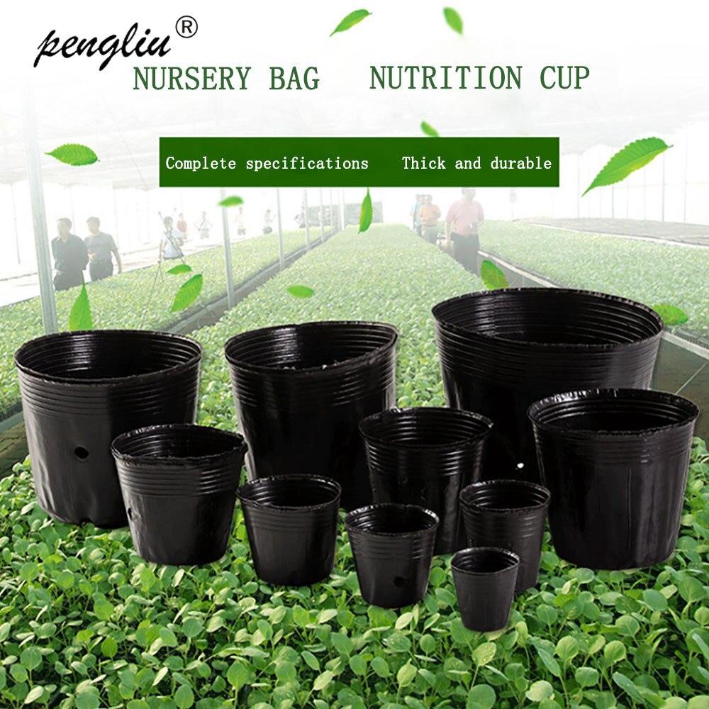 Nursery Pot Plastic Plant Seeds