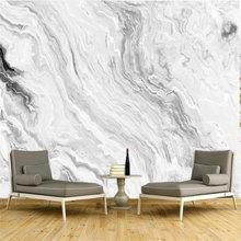 Обои beibehang с изображением белого мрамора и джаза для гостиной