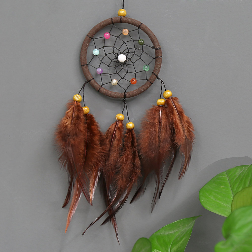 Newly Hanging Ornaments Indian Style Dream Catcher for Wall Decoration Birthday Gift