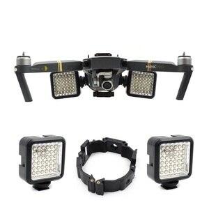 Image 1 - Soporte de hebilla para Dron DJI Mavic Pro Platinum, pieza de vuelo nocturno, luz LED, accesorios