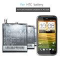 Batterie de téléphone portable pour HTC One X G23 One S S720e Z520e Z520d S728e Z560e batterie de remplacement BJ83100 1800mAh