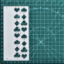 Naifumodo Border Frames Card Making Scrapbooking Dies Metal Crafts Layering Cutting Greeting Handmade