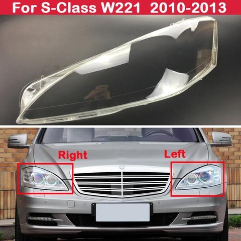 carcaca de lente de farol automotivo para mercedes benz serie s w221 s280 s300 s350