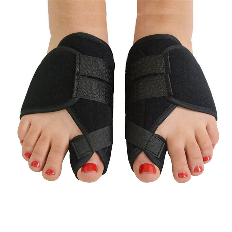 1pair Soft Bunion Corrector Toe Separator Splint Correction System Medical Device Hallux Valgus Foot Care Pedicure Orthotics