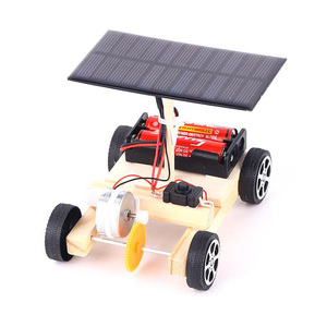 DIY Kits Solar car Science Experiment Kids STEM Electronic Educational Technology Physics Toys set for School Children 8 years