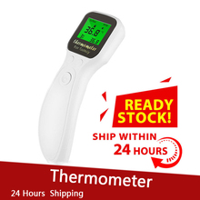 Baby Forehead Infrared Thermometer LCD IR Infrared Thermometer Non-Contact Digital Pyrometer Temperature Meter Thermometer gaomu td8380 1 2 lcd digital infrared thermometer yellow black