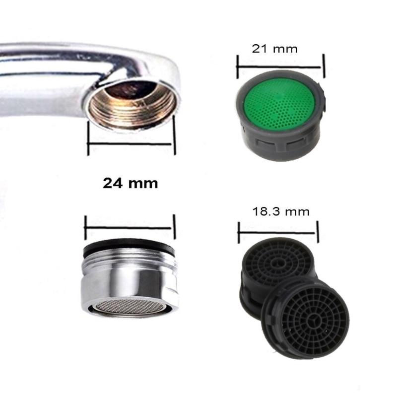 50 шт. Вода экономия аэратор ванная комната кран мыльный пузырь носик сетка предотвращение всплеск Y98E