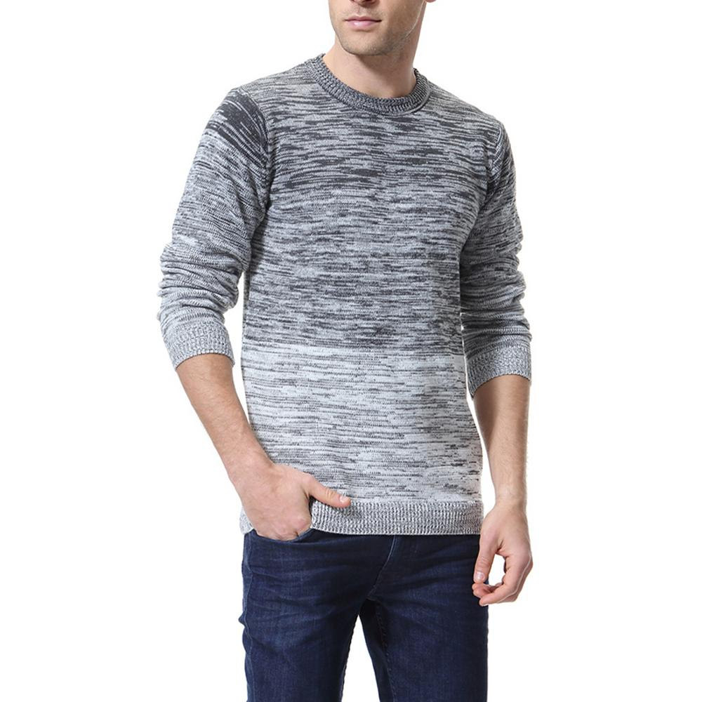 Man Sweaters  Slim Fit Jumpers Knit Warm Winter Casual Style Men Sweater