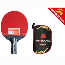 купить HENBOO Lightweight Table Tennis Racket Set Upgraded Version Racquet High Density Viscosity Strong Rotating Table Tennis Racket дешево