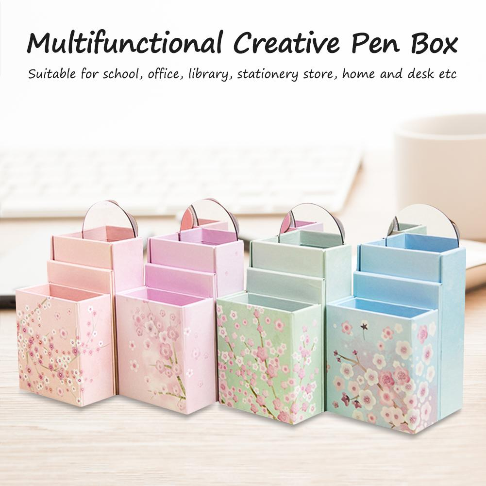 Multifunctional Pencil Holder Large Capacity Pencil Case Cute Attractive Pen Holder For School Office Library Home High Quality