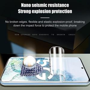 Image 2 - 3 Pièces Protecteur Décran Pour Samsung Galaxy S10 S9 S8 S20 Plus Couverture Complète Film Souple Pour Samsung Note 10 9 8 Plus A51 A50