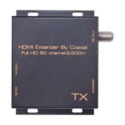 Modulator Hdmi Dvb T konwertuj przedłużacz Hdmi sygnał na cyfrowy Dvb T Modulator Hdmi na Dvb T Tv wsparcie odbiornika wyjście Rf wtyczka Eu Adaptery AC/DC Elektronika użytkowa -