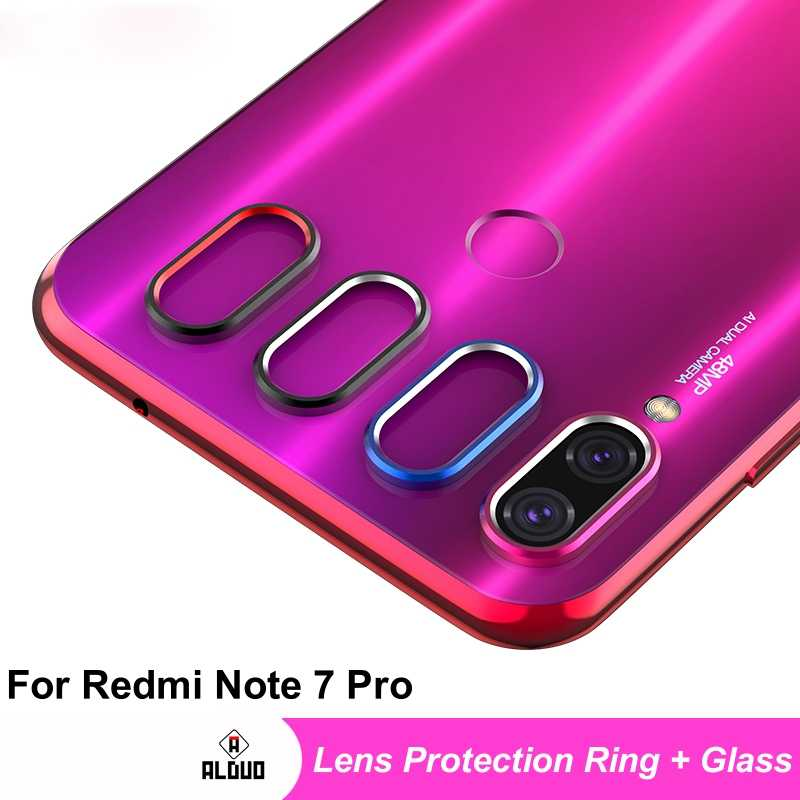 Lens Protector For Xiaomi Redmi Note 7 Pro Tempered Glass Lens Protection Ring Film on Redmi 7S Note7 Pro Lens Cover Glass