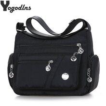 2021 Fashion Women Shoulder Messenger Bag Waterproof Nylon Oxford Crossbody Bag Female Large Capacity Handbags Purse Travel Bags