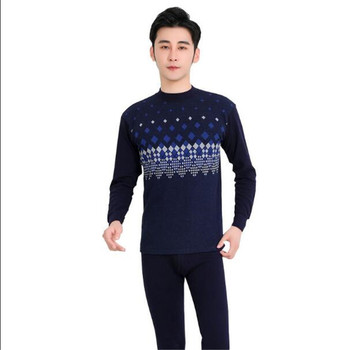 Winter long johns thick men thermal underwear sets Man Cotton Male keep warm for Russian Canada and European