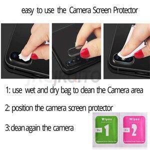 Image 5 - Cristal de Cámara 2 en 1 para Redmi Note 7 8 5 K20 pro protector de pantalla de vidrio templado para xiaomi redmi 6 7 Note 8 7 Pro película de vidrio