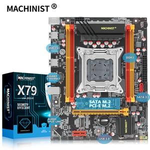MACHINIST X79 LGA 2011 motherboard LGA2011 support DDR3 REG ECC RAM memory Xeon E5 V1&V2 processor X79 V2.72A mainboard