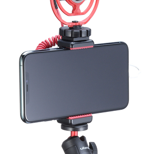 Image 2 - Ulanzi ST 07 Vlog Phone Mount with Cold Shoe for Microphone LED Light Universal 1/4 Screw Phone Mount