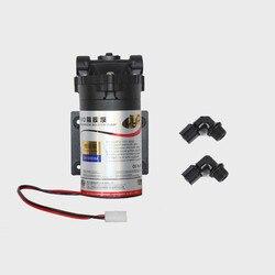 100GPD DC 24V RO membranowa pompa wspomagająca 75GPD automatyczna pompa osmozy odwrócony system wodny do picia wzrost ciśnienia