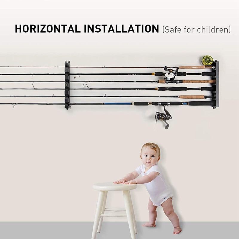 rack horizontal montagem na parede modular para garagem 05