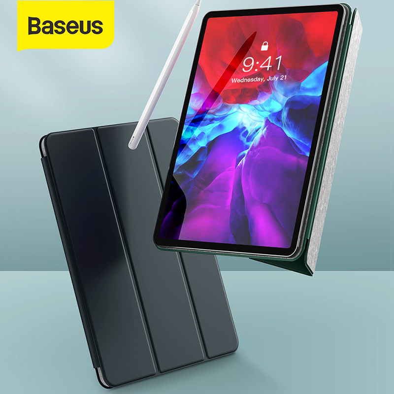 Baseus Case For IPad Pro 2020 11inch/12.9inch Case Back Trifold Stand Auto Sleep/Wake Up Smart Cover For IPad Pro Screen Protect