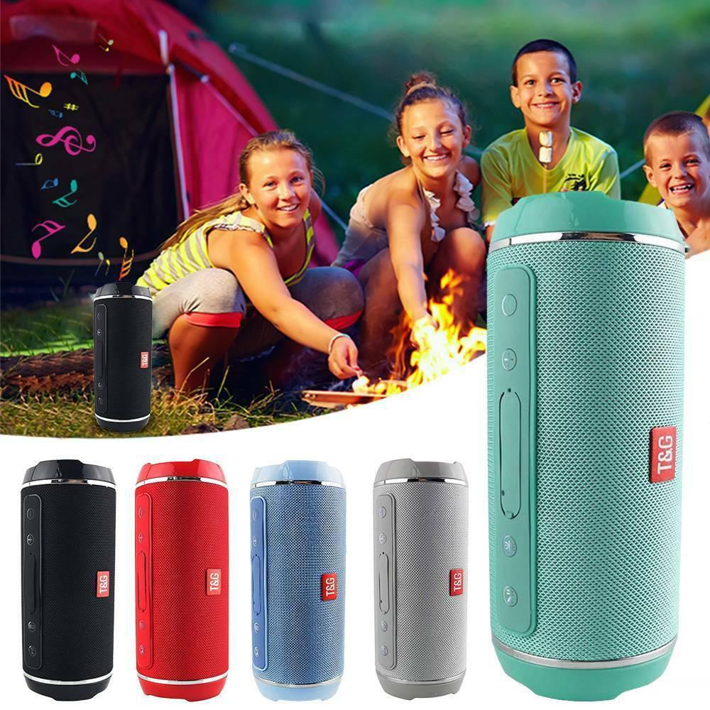 YABA TG116 Wireless Bluetooth Speaker Waterproof Stereo Bass USB/TF/AUX MP3 Portable Music Player