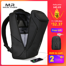 Men Backpack Laptop-Bag Usb-Charging Mark Ryden Anti-Thief Multifunctional Waterproof