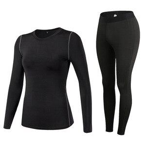 Image 3 - Fanceey مكافحة الميكروبية ملابس اخلية حرارية النساء سريعة الجافة طويل جونز للنساء الجلد الثاني الشتاء الإناث الحرارية أطقم داخلية جريمي