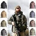 Мужская Флисовая Куртка Sharkskin TAD  водонепроницаемая ветрозащитная куртка для активного отдыха  охоты  походов и кемпинга